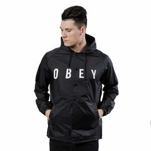 Kurtka Obey Anyway Jacket black