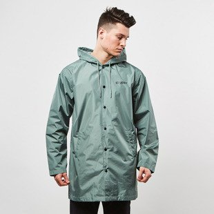 Kurtka Stussy Long Hooded Coach Jacket olive