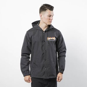 Kurtka Thrasher Flame Mag Coach Jacket black