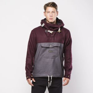 Kurtka Turbokolor Freitag Jacket burgundy / grey