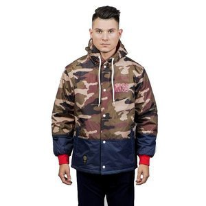 Kurtka zimowa Mass Denim Truman Jacket woodland camo