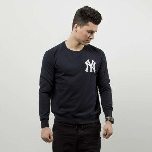 Majestic Athletic bluza Overwear / Jumper NY Yankees navy leather MNY2691NL