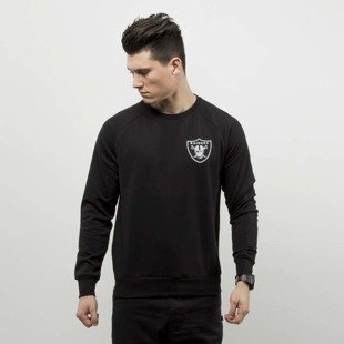 a74a03b2272 Majestic Athletic bluza Terren Loopback Crewneck Oakland Raiders deep black  MOR2691DB