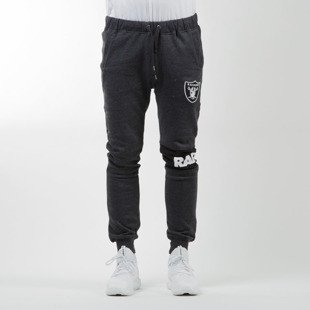 Majestic Athletic spodnie dresowe Filter Fashion Wrap Font Jogger Oakland Raiders charcoal MOR2372E3
