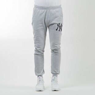 Majestic Athletic spodnie dresowe Renod Basic Slim Jogger New York Yankees grey MNY2370E2