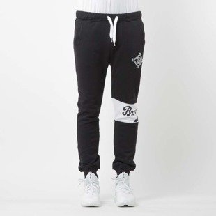 Majestic Athletic spodnie dresowe Tilter Fashion Wrap Font Jogger Brooklyn Dodgers deep black MBK2372DB