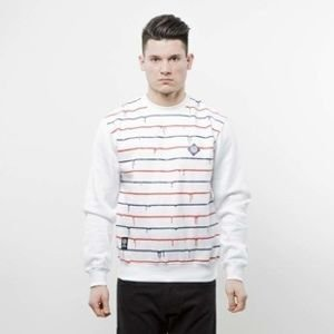 Mass Denim bluza Dripline Crewneck white