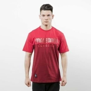 Mass Denim koszulka T-shirt Classics Cut claret / red SS 2017