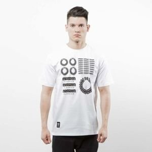 Mass Denim koszulka T-shirt Display white SS 2017