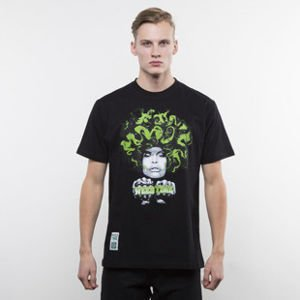 Mass Denim koszulka T-shirt Lady In Green black SS 2017