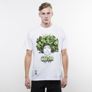 Mass Denim koszulka T-shirt Lady In Green white SS 2017