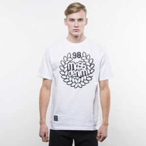 Mass Denim koszulka t-shirt Base white SS 2017