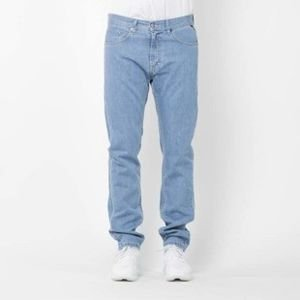 Mass Denim spodnie jeans Flip tapered fit light blue SS2017