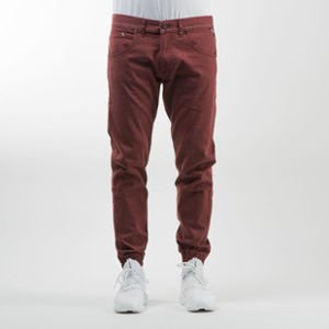 Mass Denim spodnie jogger pants Signature sneaker fit claret
