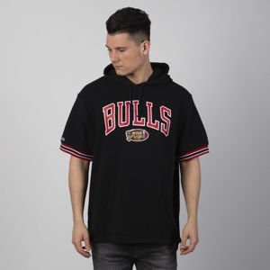 Mitchell & Ness bluza French Terry Hooded black Chicago Bulls
