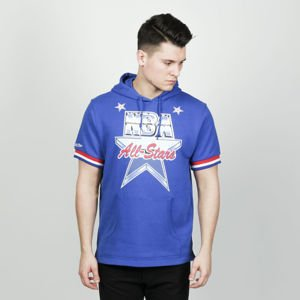 Mitchell & Ness bluza French Terry Hooded royal NBA All Star 1991