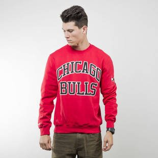 Mitchell & Ness bluza sweatshirt Chicago Bulls crewneck red NBA START OF THE SEASON