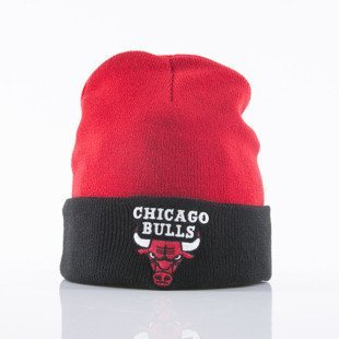 Mitchell & Ness czapka Chicago Bulls red/black 2Tone Cuff EU174