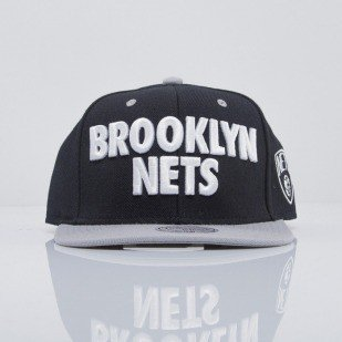 Mitchell & Ness czapka snapback Brooklyn Nets black Score EU300