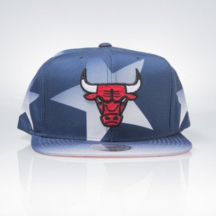 Mitchell & Ness czapka snapback Chicago Bulls navy / red Award Ceremony VQ61Z