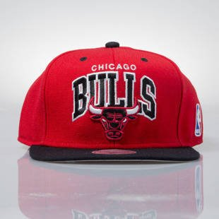 Mitchell & Ness czapka snapback Chicago Bulls red NA80Z TEAM ARCH