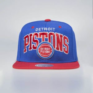 Mitchell & Ness czapka snapback Detroit Pistons royal / red TEAM ARCH EU1129