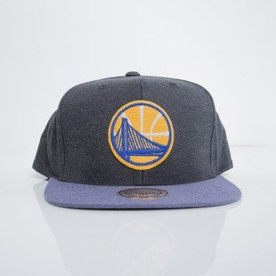Mitchell & Ness czapka snapback Golden State Warriors heather black Heather Profile EU780