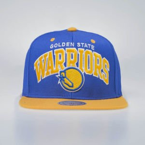 Mitchell & Ness czapka snapback Golden State Warriors royal / yellow TEAM ARCH EU1129