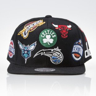 Mitchell & Ness czapka snapback NBA Eastern black ALL OVER EU879