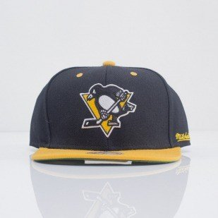 Mitchell & Ness czapka snapback  Pittsburgh Penguins black Flipside EU239