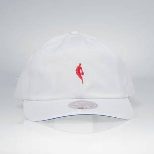 Mitchell & Ness czapka strapback NBA white / red QB03Z LITTLE DRIBBLER DAD HAT