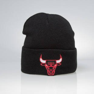 Mitchell & Ness czapka zimowa Chicago Bulls black Team Logo Cuff EU785