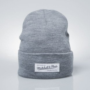 Mitchell & Ness czapka zimowa Mitchell & Ness czapka zimowa winter beanie M&N grey heather Nostalgia Cuff Knit