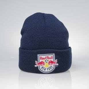Mitchell & Ness czapka zimowa New York Red Bulls navy Team Logo Cuff EU785