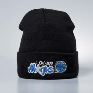 Mitchell & Ness czapka zimowa Orlando Magic black Team Logo Cuff
