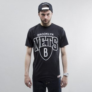 Mitchell & Ness koszulka Brooklyn Nets black Team Arch
