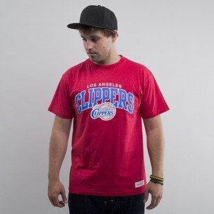 Mitchell & Ness koszulka Los Angeles Clippers red Team Arch