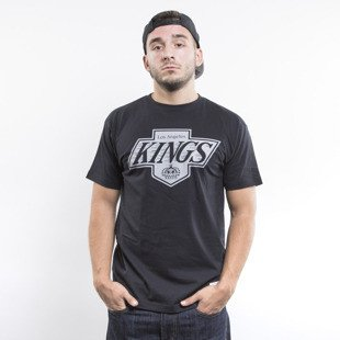 Mitchell & Ness koszulka t-shirt Los Angeles Kings black Team Logo Traditional
