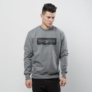 Nervous bluza crewneck Brand Box gray
