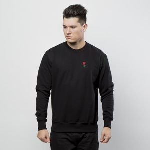 Nervous bluza crewneck Rose Icon black