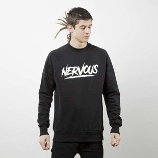 Nervous bluza sweatshirt Scratch black