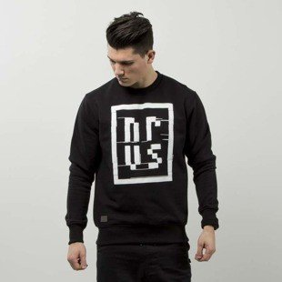 Nervous bluza sweatshirt TV Noise black