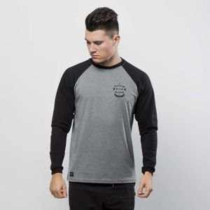 Nervous koszulka longsleeve Arms gray / black
