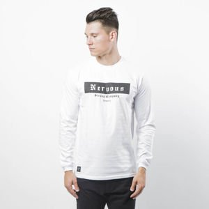 Nervous koszulka longsleeve Nervous SP18 Ghotic Box white