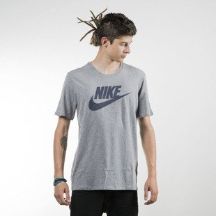 Nike koszulka t-shirt Futura Icon heather grey (696707-091)