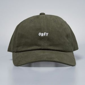 Obey czapka Jumble Bar III Panel Hat army
