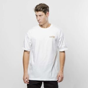 Obey koszulka Quake Embroidered Tee SS white neon
