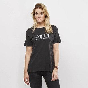 Obey koszulka t-shirt Obey Old World Obey black