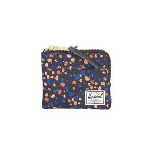 Portfel Herschel Johnny + Wallet black mini floral 10362-01641
