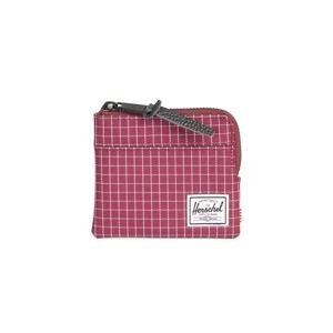 Portfel Herschel Johnny + Wallet wine grid 10362-01640